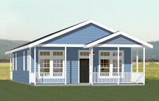 28x40 House -- 2 Bedroom 2 Bath -- PDF Floor Plan -- 1,120 sq ft -- Model 2