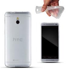 HTC ONE Mini M4 TPU TRANSPARENT Silikon Schutz Hülle Case Bumper Cover Schale