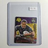 Frank Pritchard - Penrith Panthers | 2007 Footy Tazo | + Toploader | Gold Series