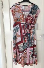 Zara Multicoloured Floral Printed Dress Size XS