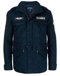 Polo Ralph Lauren Men's Combat Patch Jacket, Brand Size Small