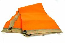 Infrared Night Vision Thermal Reflective Rescue Blanket 4ftx4ft with case NOS