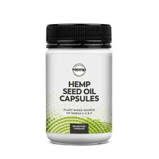 * Essential Hemp Hemp Seed Oil 100 Capsules Plant Based Omega 3 6 9