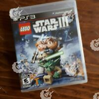 Lego Star Wars III 3 The Clone Wars ( PS3 Playstation 3 Sony ) TESTED