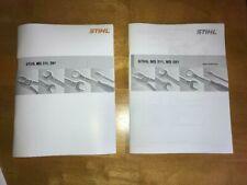 MS 311 391 MS311 MS391 Stihl Service Workshop Repair & Parts List Diagram Manual