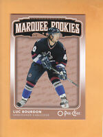 2006 07 O PEE CHEE LUC BOURDON ROOKIE #558 VANCOUVER CANUCKS