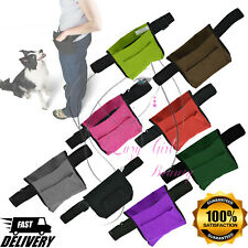 More details for puppy pet dog obedience training treat feed bait food snack pouch belt bags uk