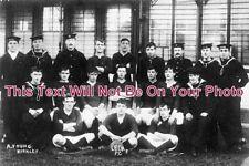 SF 258 - HMS Leda Football Team, Lowestoft, Suffolk c1910 - 6x4 Photo