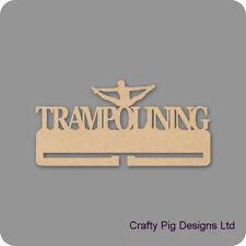 Trampolining Medal Holder - 4mm MDF Wooden Craft Blank