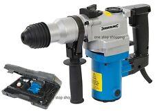 Heavy Duty Silverline 850 W Rotary SDS hammer drill & Cinceles En Funda De 3 De Garantía
