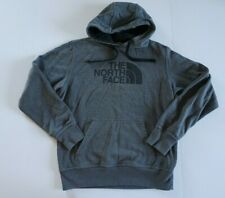 VINTAGE The North Face Hoodie Hooded Sweatshirt Gray / Green Men's Size Small