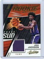 JOSH JACKSON 2017-18 PANINI ABSOLUTE ROOKIE MATERIALS JERSEY RELIC RC /199