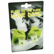 Adults Glow In The Dark Love Dice Game-Ideal For Lovers/Couples