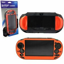 KMD Dual Injected Aluminum Armor Case For Sony PlayStation Vita PCH-1000, Red