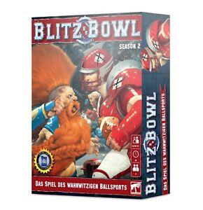 Blitz Bowl - Temporada 2 - Warhammer - Games Workshop (Alemán)