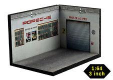 Diorama German Car Workshop - 1/64ème (3inch) - #3in-3-L-L-AF-001