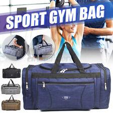 Large Capacity Men Sports Gym Bags Luggage Travel Bag Satchel Shoulder