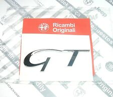 "100% GENUINE NEW Alfa Romeo "" GT "" Boot Trunk Badge Emblem 60690947"
