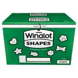 Winalot Shapes nutritional, crunchy, complimentary dog biscuits 15kg