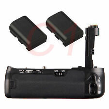 Pro Battery Grip Holder w/ 2pcs LP-E6 1800mAh  for Canon 6D SLR Camera as BG-E13