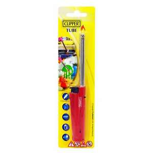 New Clipper Tube Long Refillable Lighter For Oven BBQ Cookers Candles Fires