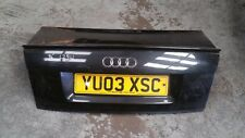 AUDI A4 B6 SALOON BOOT LID TAILGATE PANEL IN BLACK LZ9W