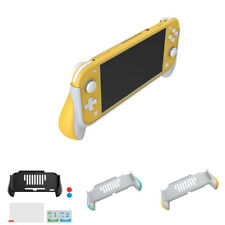 For Nintendo Switch Lite Protective Grip Case Screen Film Joystick Thumb Cap Set
