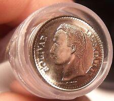 Gem Unc Roll (50 Coins) Venezuela 1990-MM 25 Centimos~Last Year Ever~Free Ship