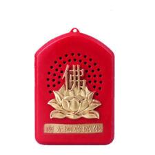 Chinese Buddhist Buddha Pray Scriptures Music Machine Gift 5 Songs Incantation