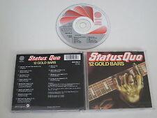 STATUS QUO/12 GOLD BARS(VÉRTIGO 800 062-2) CD ÁLBUM