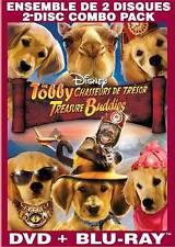 DISNEY'S TREASURE BUDDIES DVD +BLU-RAY COMBO SET