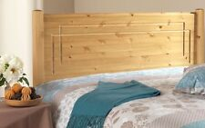 SOLID ANTIQUE PINE 3FT VEGAS HEADBOARD TO FIT A DIVAN BED CAN MATCH FURNITURE