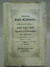 Beecher-STOWE-UNCLE TOM'S CABIN-Fever - 1852