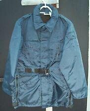 *New* Mustang MC1510 Law Enforcement Service Survival Coat Adult Medium Blue #8