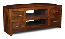 LIVING ROOM FURNITURE SHEESHAM CUBE TV/MEDIA UNIT (C25)