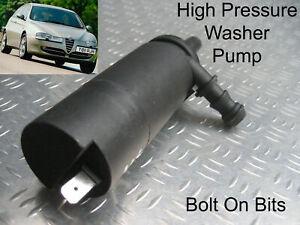 Headlamp/Headlight Washer Spray Cleaning Pump Alfa Romeo 147 2001 onwards