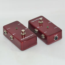 A/B Loop Box , Guitar Effect Pedal Looper Switcher True-Bypass Guitar Pedal Red