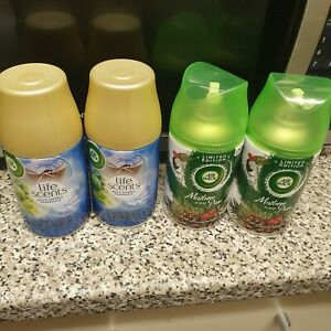 Air Wick Life Scents Freshmatic Air Freshener Refill - 250ml, Pack of 4