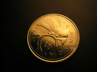 Canada 1996 Gem Mint 25 Cent Coin IDJ.
