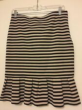 skirt White And Black,Size 4,Striped,gently Use, Sexy,hot Deal❤