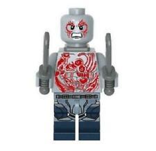 Drax Minifigure Marvel Super Heroes Figure For Custom Lego Minifig Batista