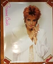 """Rosanne Cash US promotional poster 1 sided VG+ Cond. appx. 25"""" x 31"""" D"""