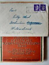 Germany nazi Book wehrmacht Feldpost Adolf Hitler Stamp WWII Third Reich