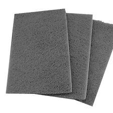 Lot of 5 Grey Mirka Brand Scuff Pads  *Free Shipping*  Scotch Brite Mirlon Total