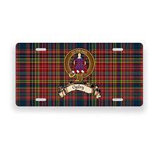 Ogilvy Scottish Clan Tartan Novelty Auto Plate Tag Family License Plate
