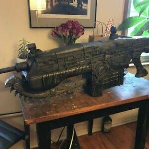 Gears Of War Lancer Chainsaw Gun Rifle Replica Prop 1:1 scale (TKP 32)