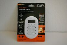 My Touchsmart 35150 Indoor Plug-in 7-Day SunSmart Single-Ground Digital Timer