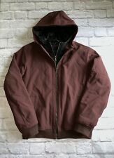 Tommy Hilfiger Men's Soft Shell Fashion Bomber with Contrast Bib and Hood MEDIUM