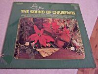 """Living Strings """"The Sound of Christmas"""" RCA CAMDEN CAS-2426 LP W/SHRINK"""
