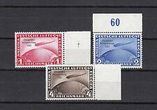 DT. Reich Chicago viaggio 1930 ** Michel 496-498 equipollenze (s13157)